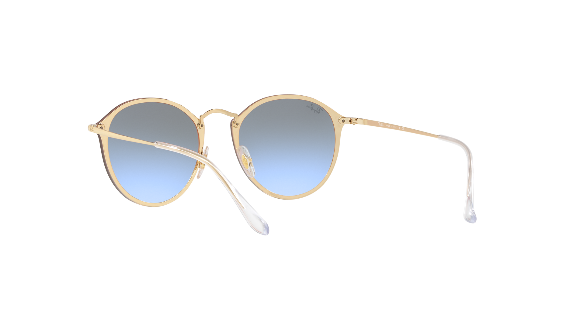 1645b66cd2 Sunglasses Ray-Ban Round Blaze Gold RB3574N 001 X0 59-14 Large Gradient  Mirror