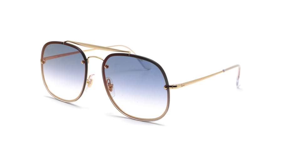 Ray-Ban RB3583N Blaze General Or Bleu Dégradé miroir tIYqr