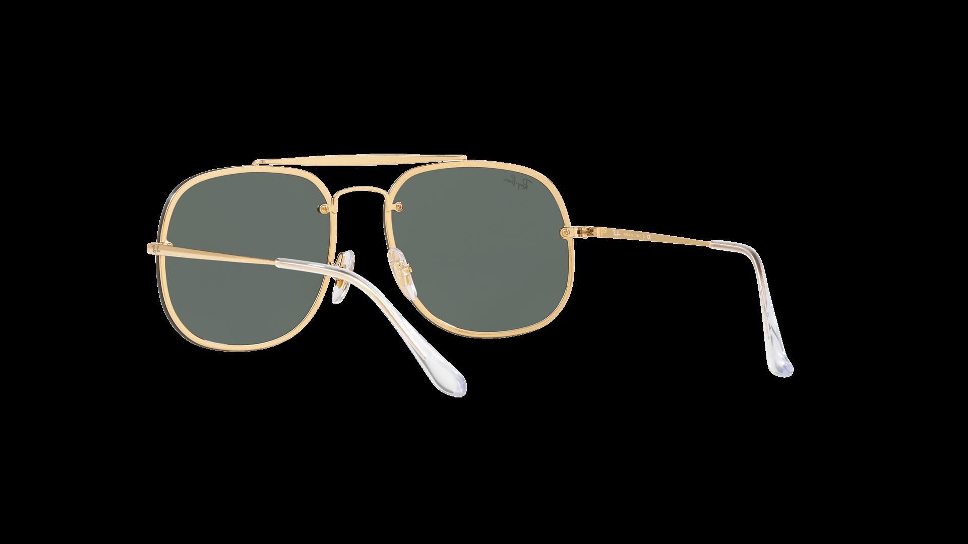 7a5dd315b53 Sunglasses Ray-Ban General Blaze Gold RB3583N 9050 71 58-16 Large