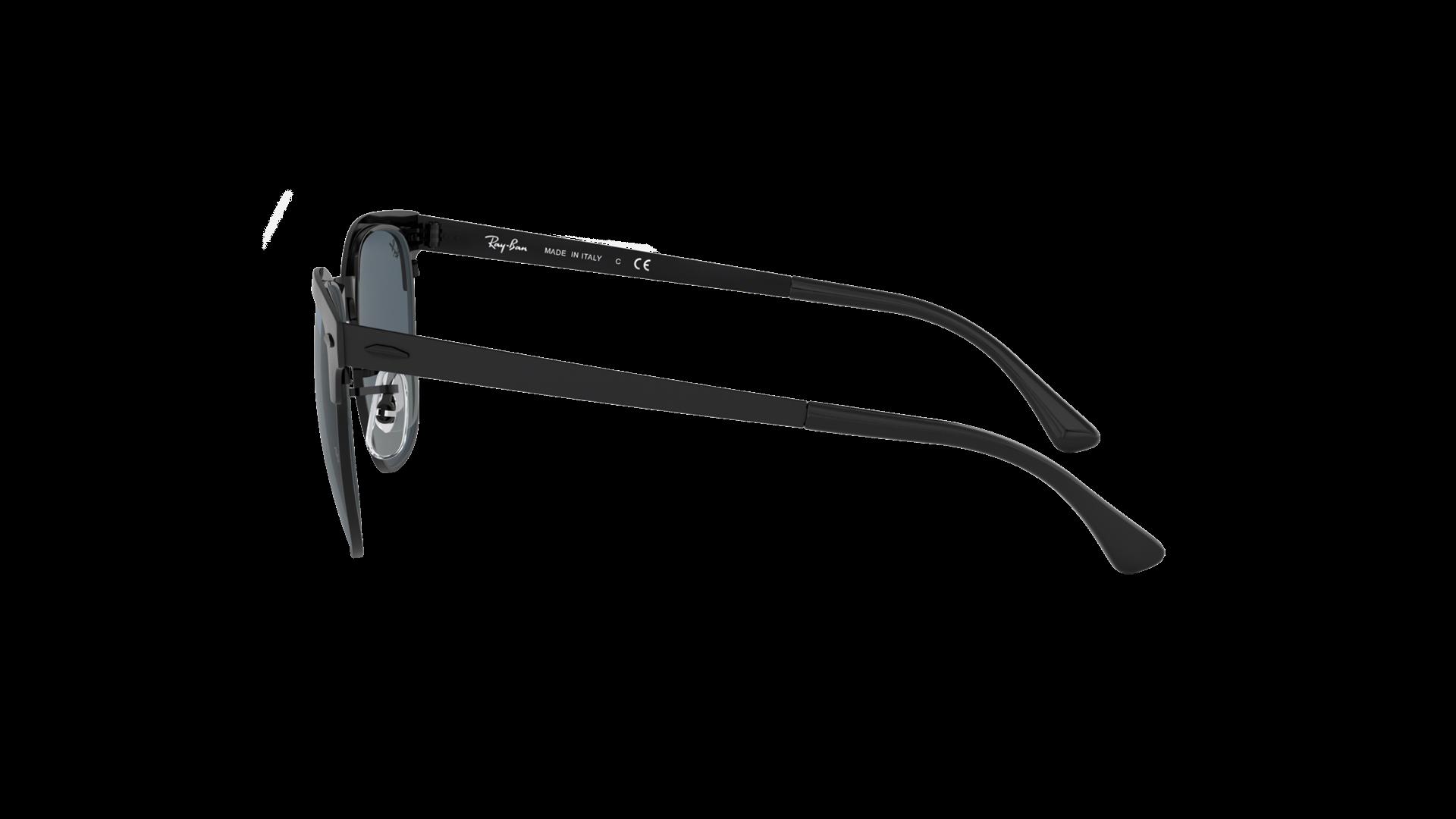 12b6a5c0a509f Sunglasses Ray-Ban Clubmaster Metal Black Matte RB3716 186 R5 51-21 Medium
