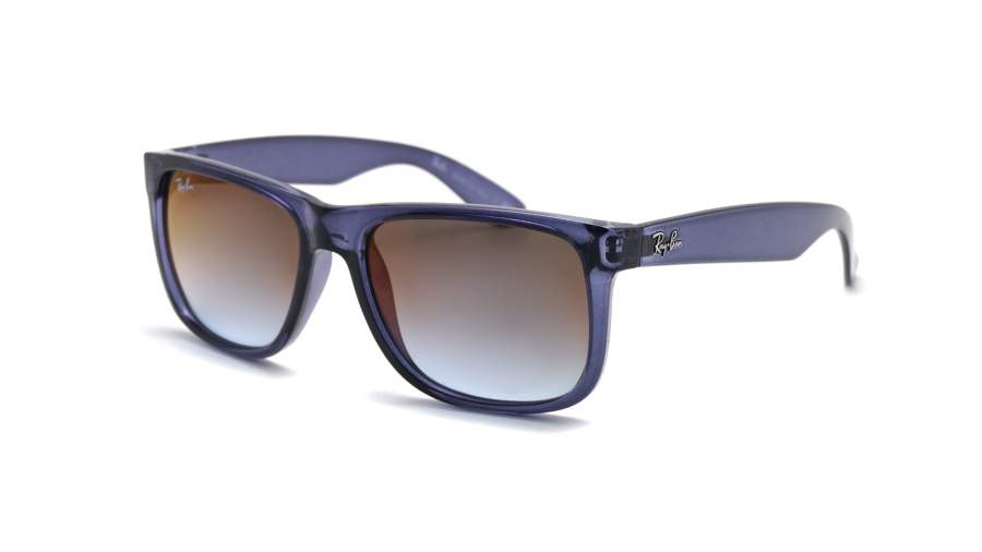 Ray-Ban Justin Sonnenbrille Transparentes Blau 6341T0 54mm WEqfw0T