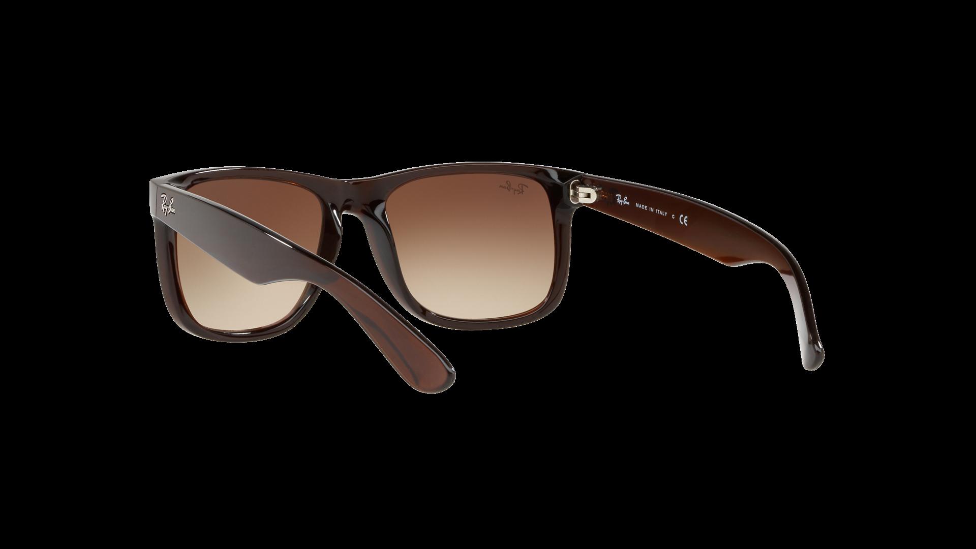 2d0370c9ff Sunglasses Ray-Ban Justin Flash gradient lenses Brown RB4165 714 S0 54-16  Medium Gradient Mirror. Medium. 51-16