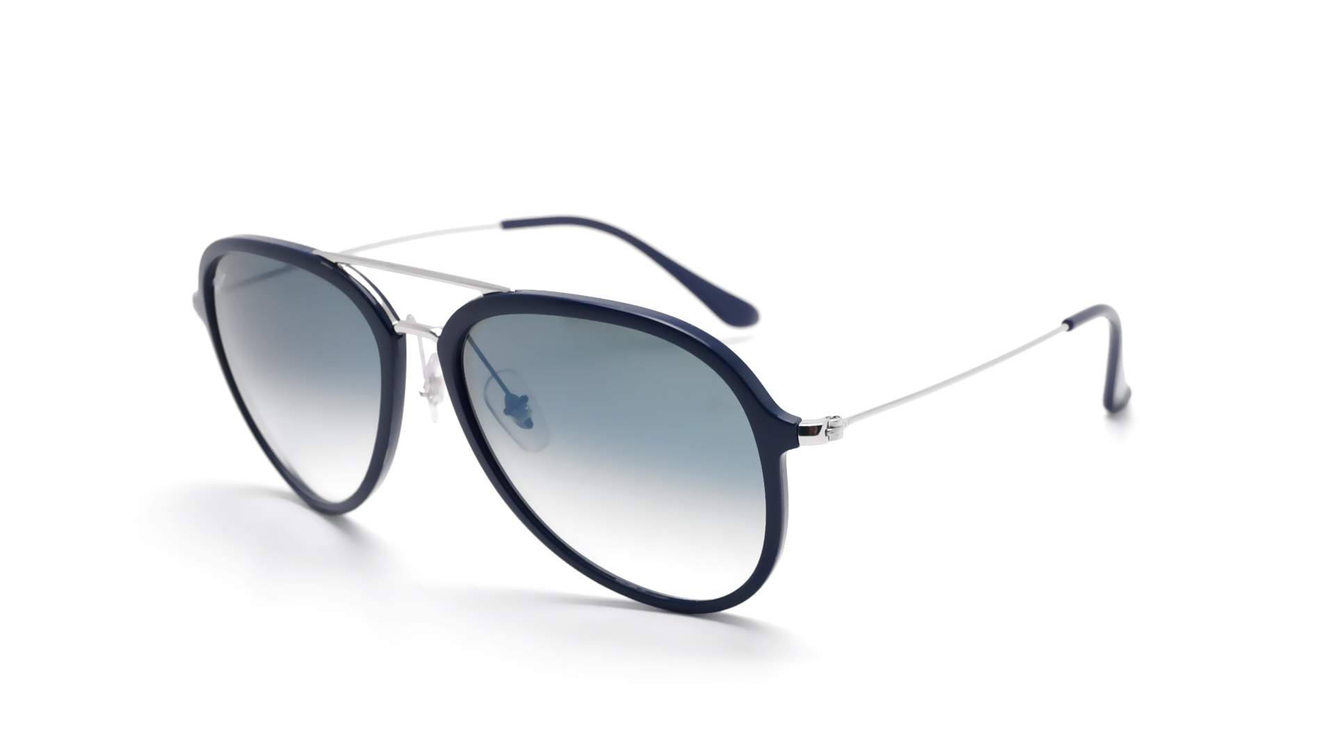 3ce3c05a13c Sunglasses Ray-Ban RB4298 6334 3A 57-17 Blue Large Gradient Mirror