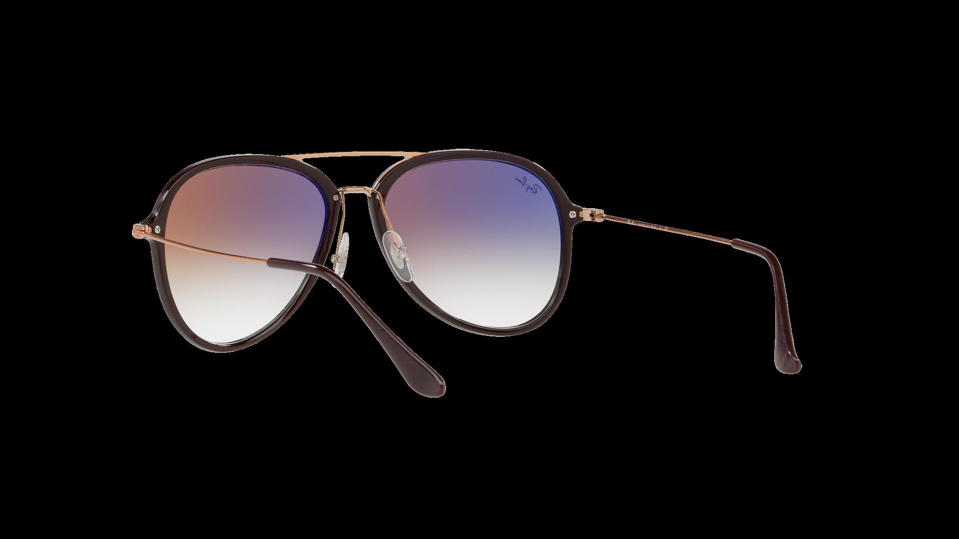 236c6f79eee Sunglasses Ray-Ban RB4298 6335 S5 57-17 Purple Large Gradient Mirror