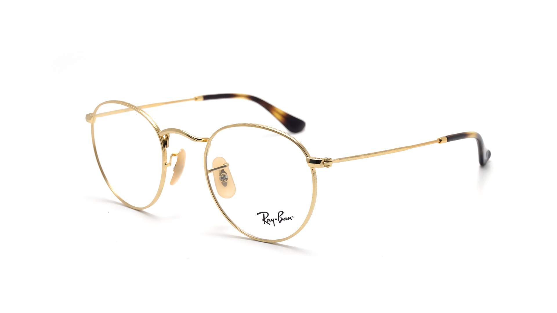 cf16416cfb4c ... germany eyeglasses ray ban round metal optics gold rx3447 rb3447v 2500  47 21 small a3972 58eea