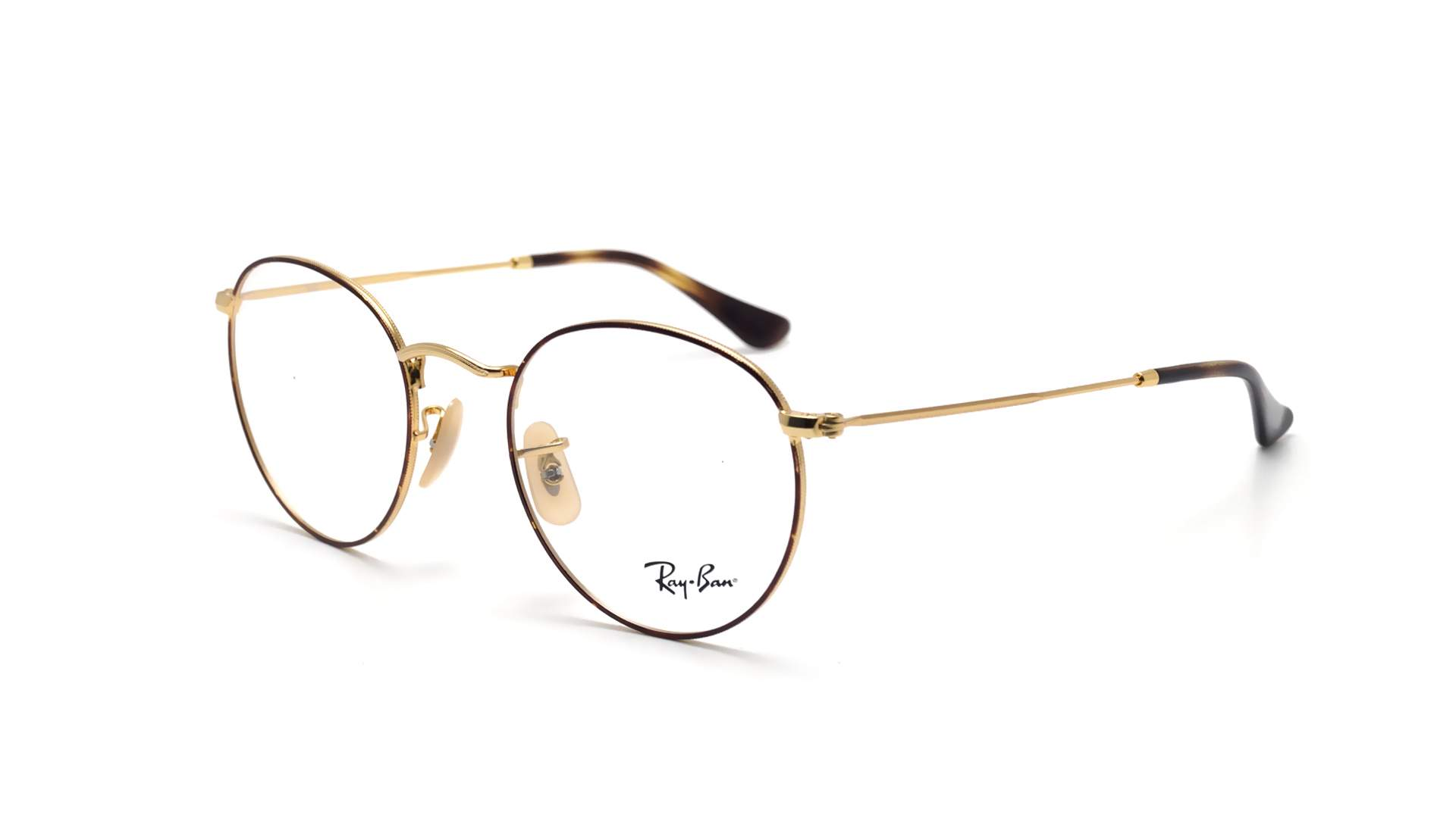 Lunettes de vue Ray-Ban Round metal Optics Écaille RX3447 RB3447V 2945  50-21 Medium f59662f12595