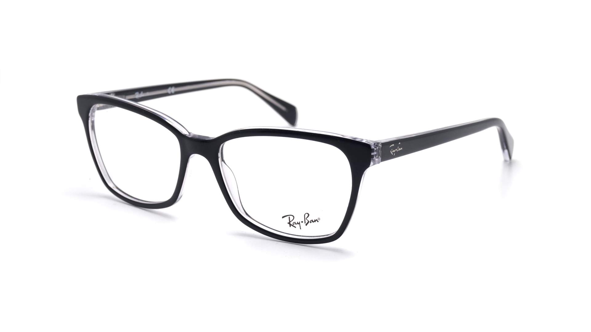 bf5543e9e3 Eyeglasses Ray-Ban RX5362 RB5362 2034 54-17 Black Large