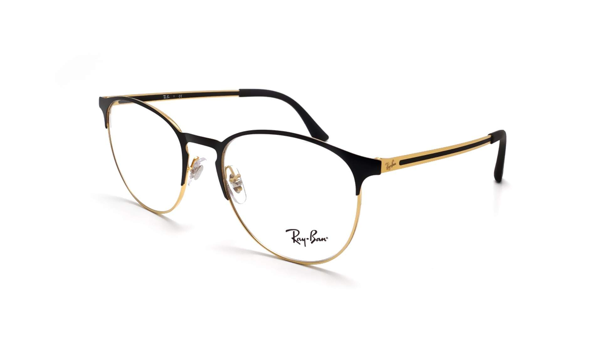 4a887174dc8 Eyeglasses Ray-Ban RX6375 RB6375 2890 53-18 Black Medium