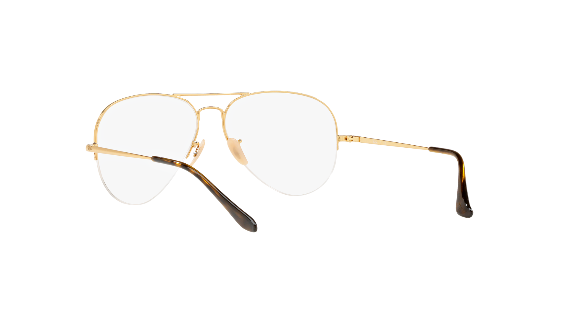 e02feefc7294 Eyeglasses Ray-Ban Aviator Gaze Gold RX6589 RB6589 2500 56-15 Medium