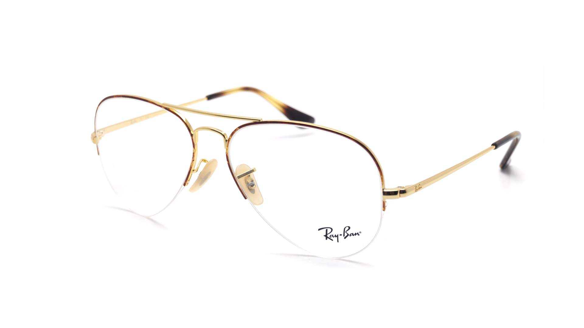 53d90ebe9e1c0 Eyeglasses Ray-Ban Aviator Gaze Gold RX6589 RB6589 2945 56-15 Medium