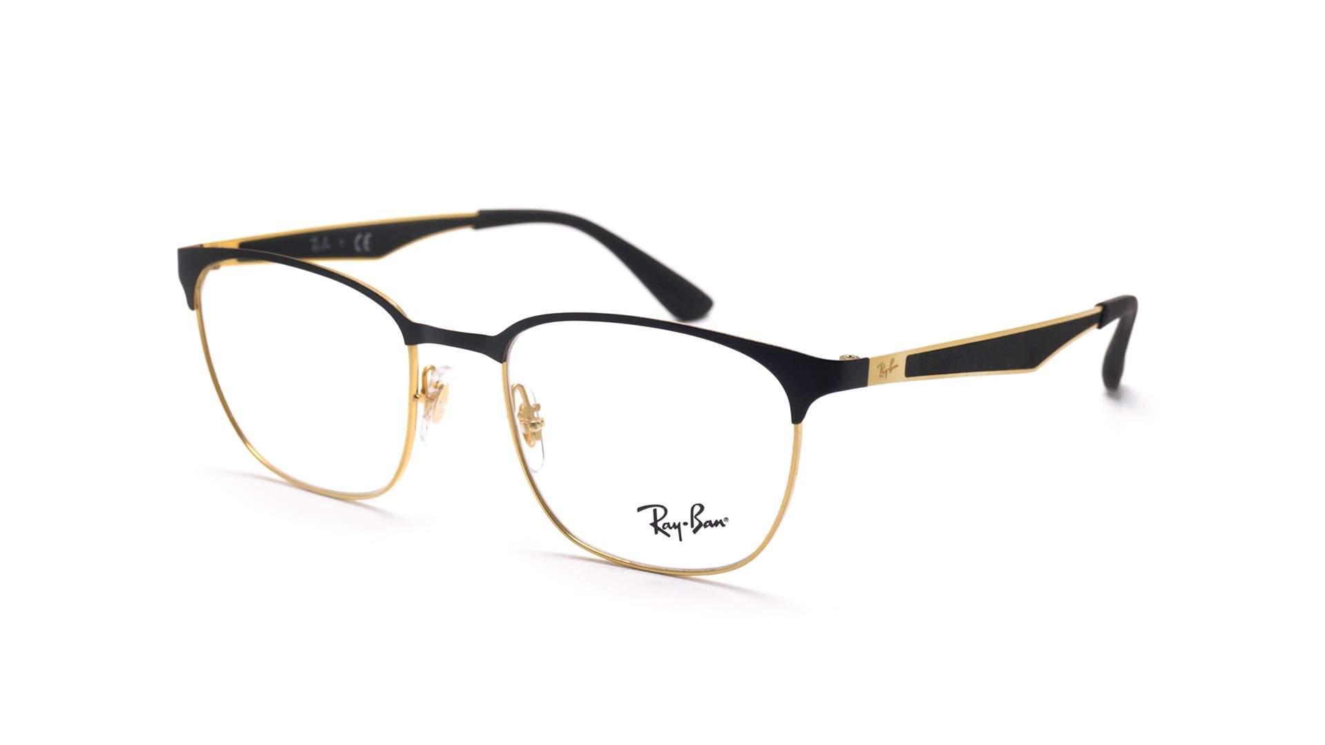 02249ef5d12 Eyeglasses Ray-Ban RX6356 RB6356 2875 52-18 Black Medium