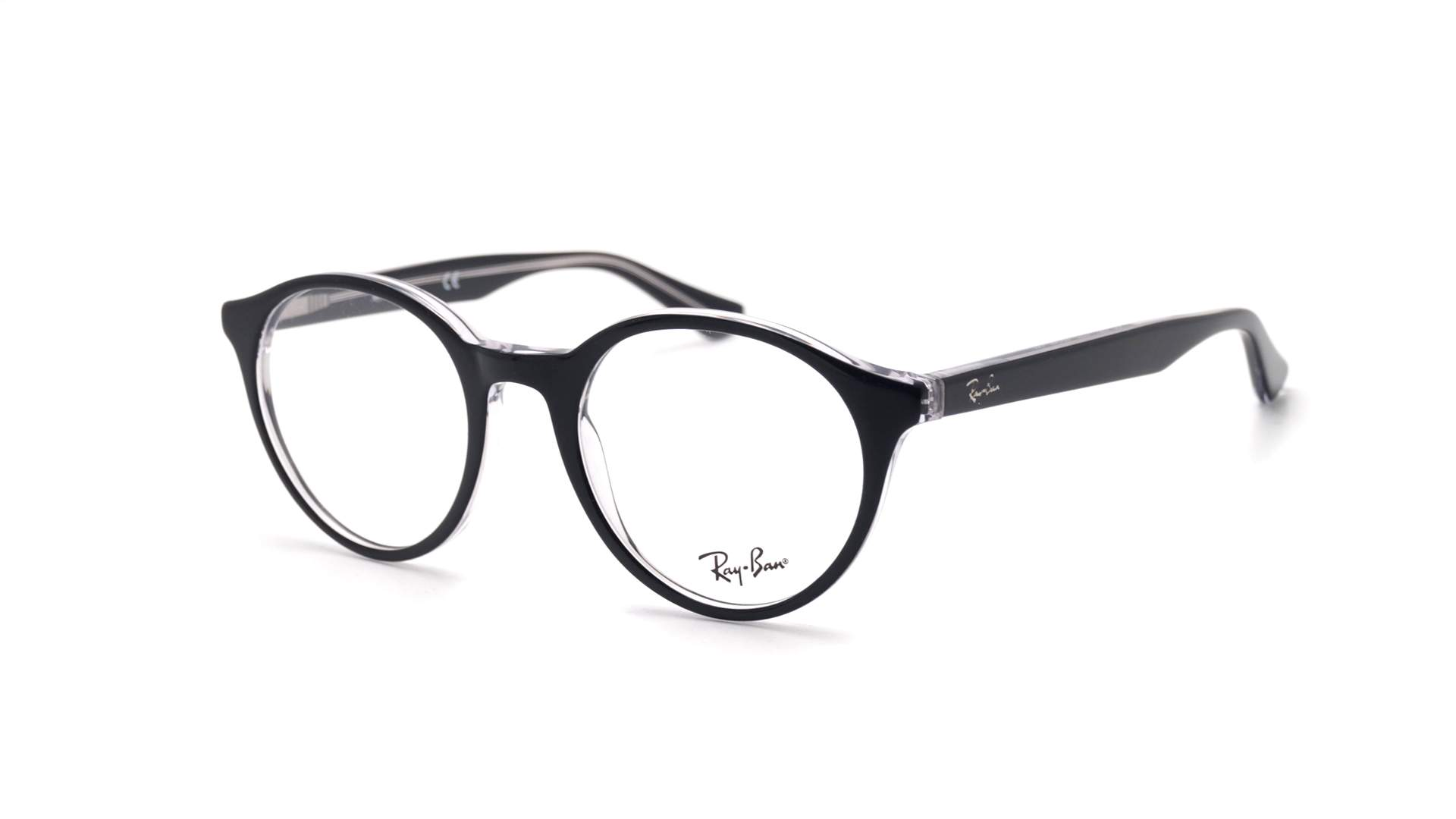 7ea16c4d44 Eyeglasses Ray-Ban RX5361 RB5361 2034 49-20 Black Medium