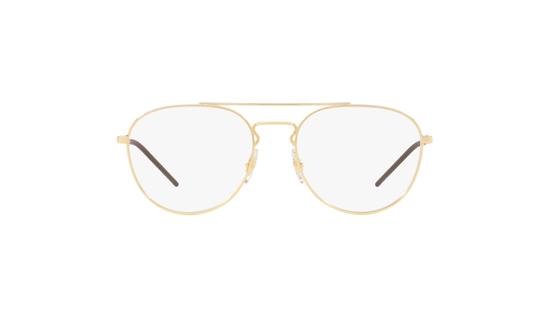 9e0499ed45 Eyeglasses Ray-Ban RX6414 RB6414 2500 53-18 Gold Medium