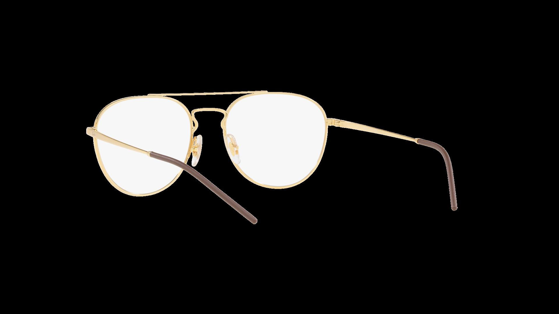 7ace3a9708d52 Eyeglasses Ray-Ban RX6414 RB6414 2500 53-18 Gold Medium