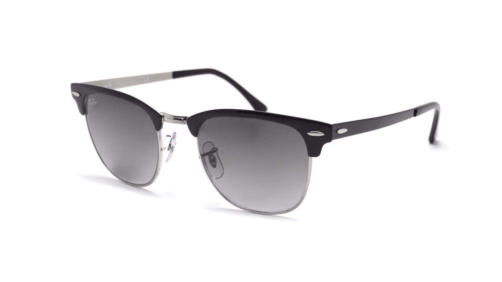 e9e7ca7d62 Sunglasses Ray-Ban Clubmaster Metal Black RB3716 9004/71 51-21 Medium  Gradient