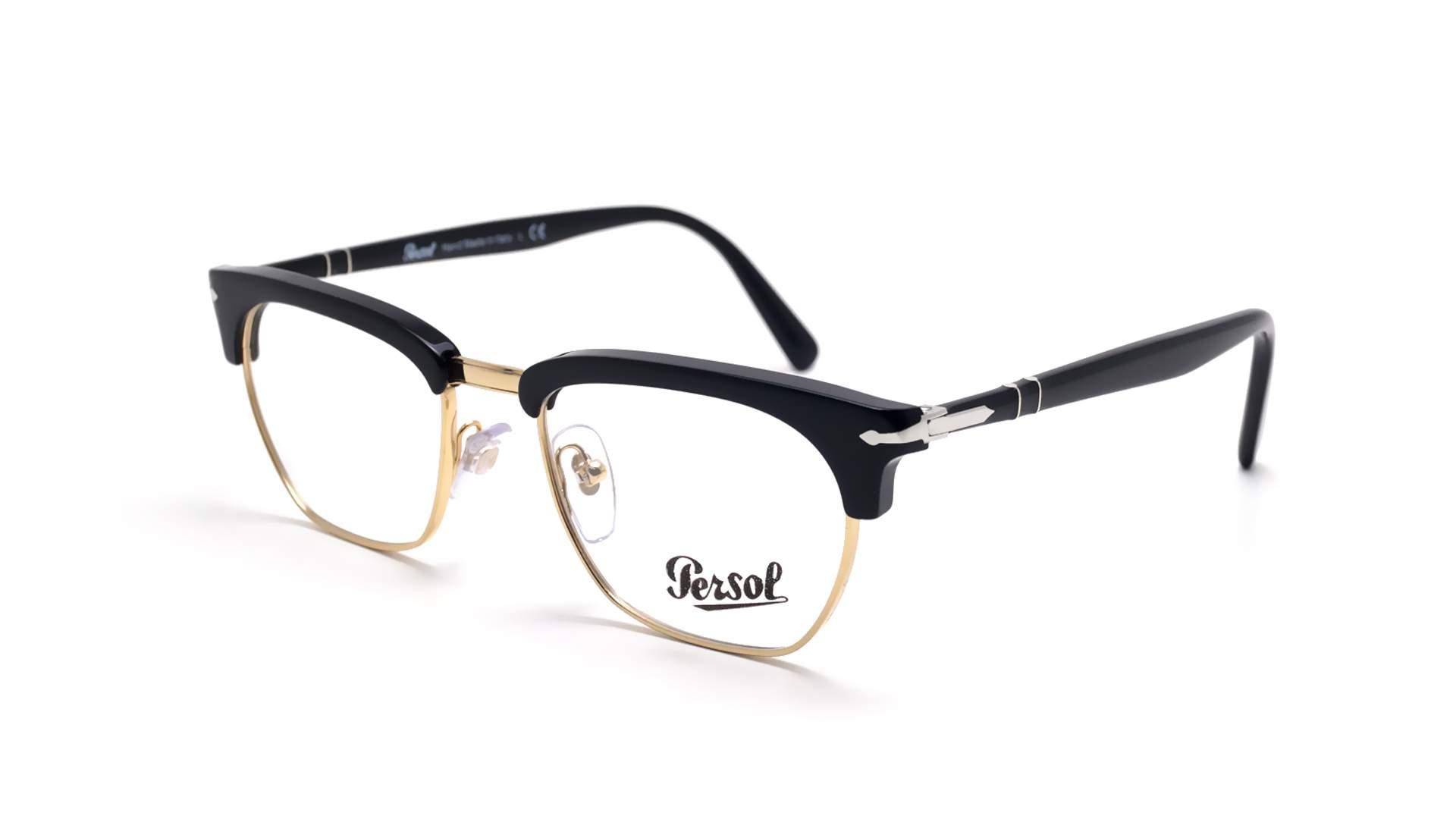 7fd10f4c42f Lunettes de vue Persol Tailoring edition Noir PO3196V 95 51-19 Medium
