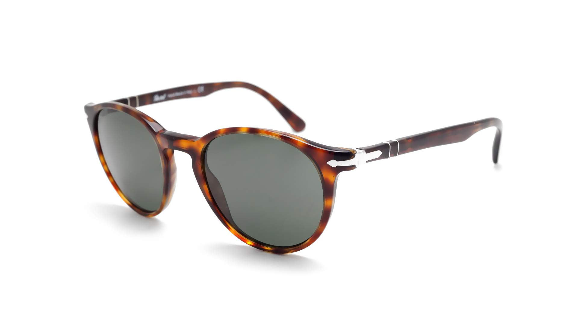 ce9f12574f Sunglasses Persol PO3152S 9015 31 49-20 Tortoise Medium