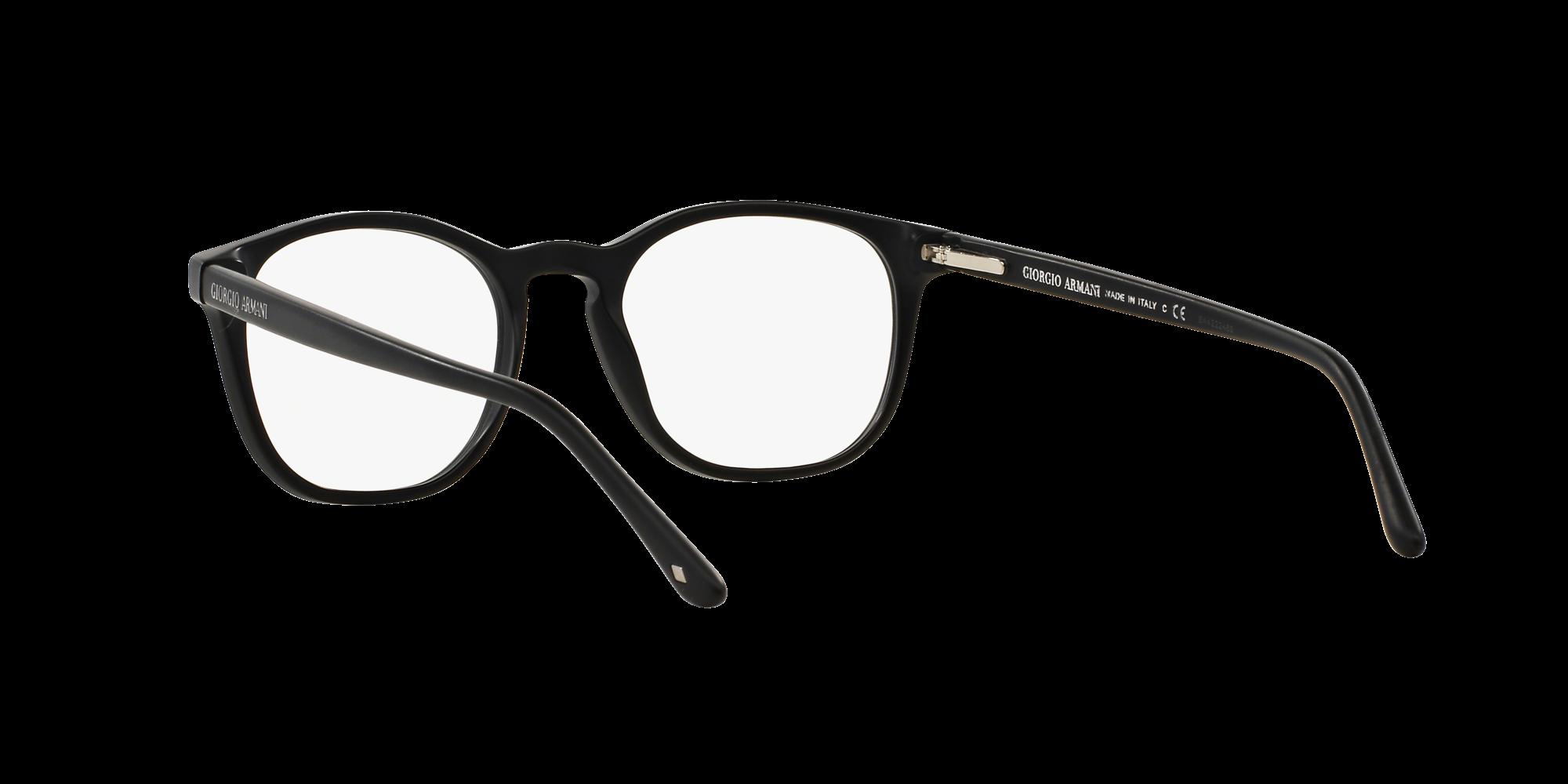 9b59d711930 Eyeglasses Giorgio Armani Frames Of Life Black Matte AR7074 5042 50-19  Medium