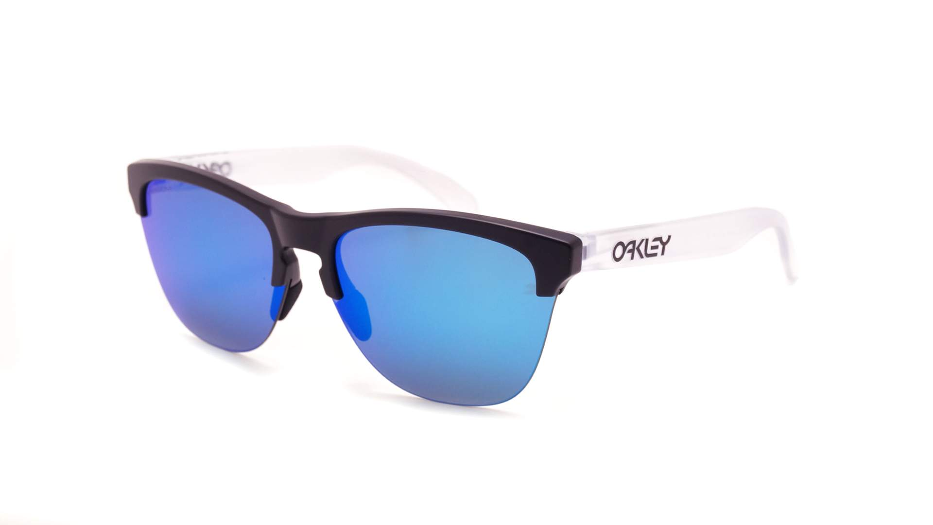 5880057453 Sunglasses Oakley Frogskins Lite Black Matte Prizm OO9374 02 63-10 Medium  Mirror
