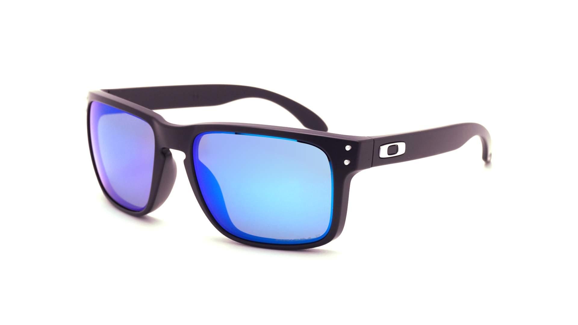 b207f333fd Sunglasses Oakley Holbrook Black Matte Prizm OO9102 F0 57-18 Medium  Polarized Mirror