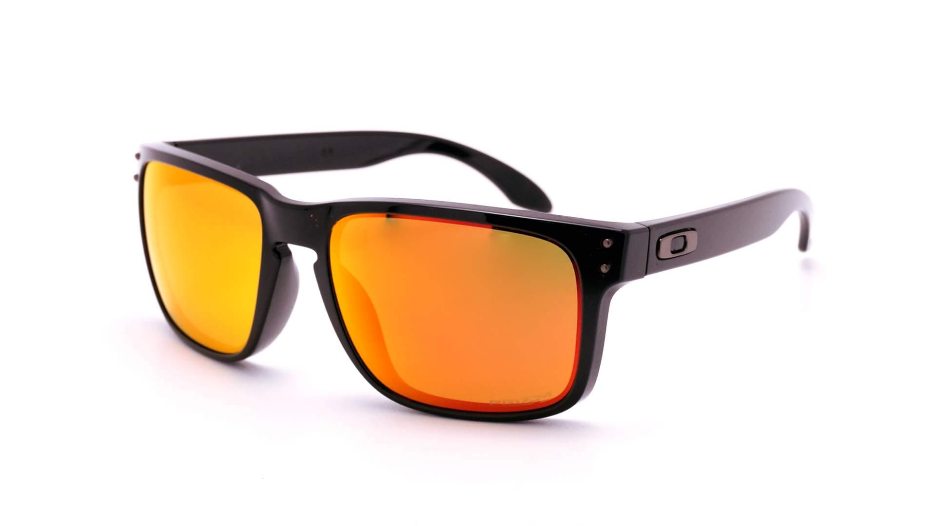 55ed1baf56 Sunglasses Oakley Holbrook Black Prizm OO9102 F1 55-18 Medium Polarized  Mirror