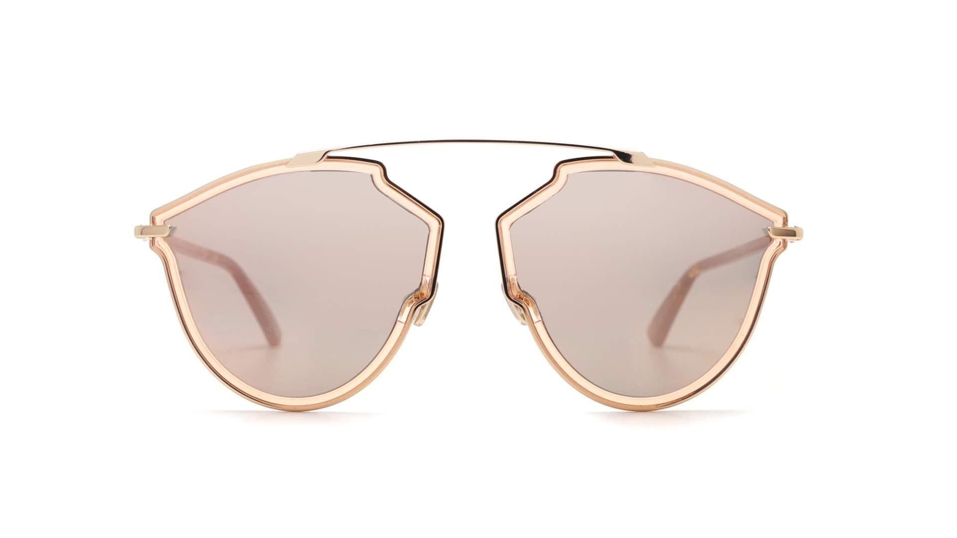 dc1681cf926d2 Lunettes de soleil Dior SoReal Rise Rose DIORSOREALRISE S450J 58-17 Large  Miroirs