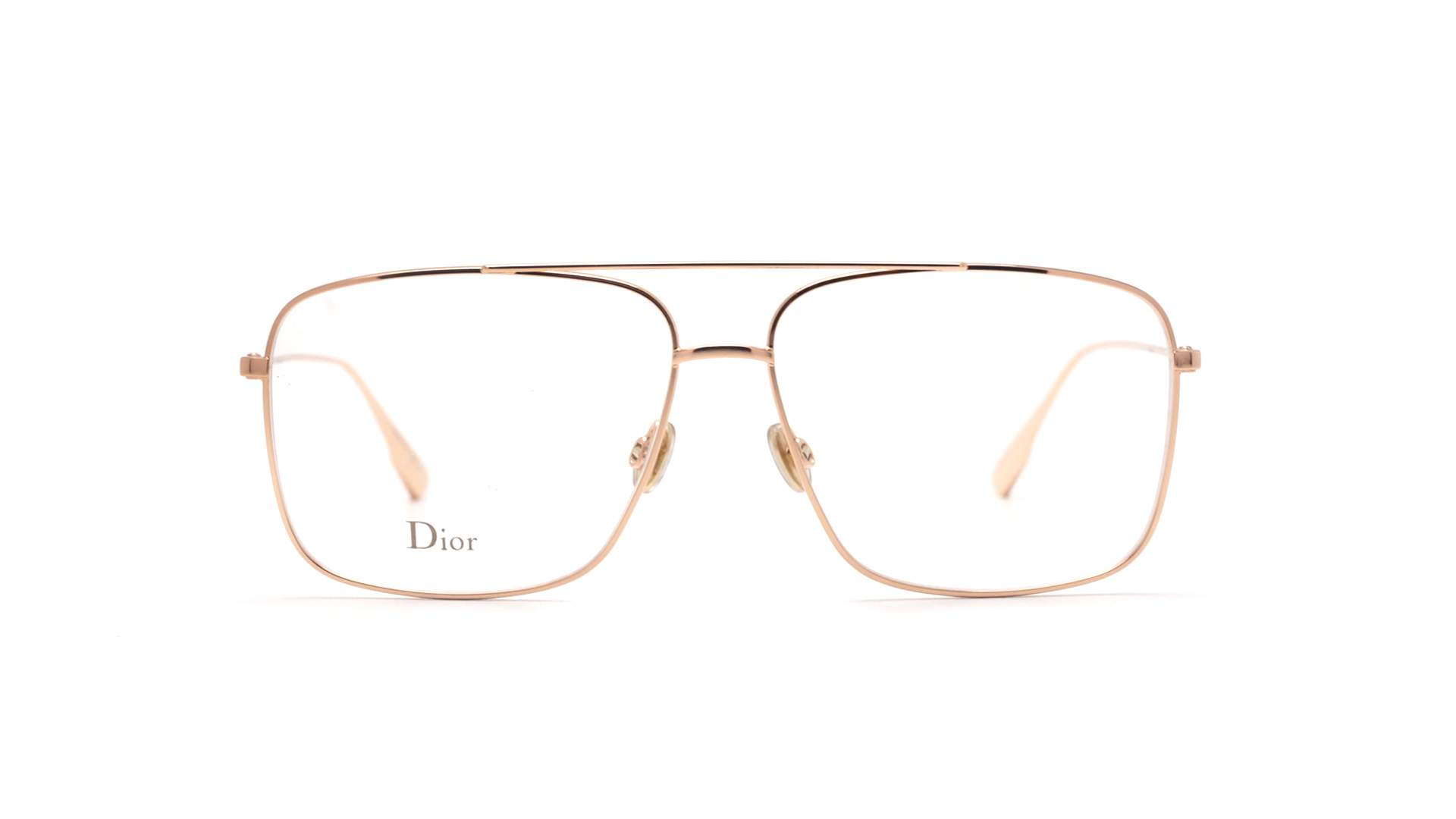 08b73c8f9e Eyeglasses Dior Stellaire 3 Gold STELLAIRE03 DDB 57-13 Large