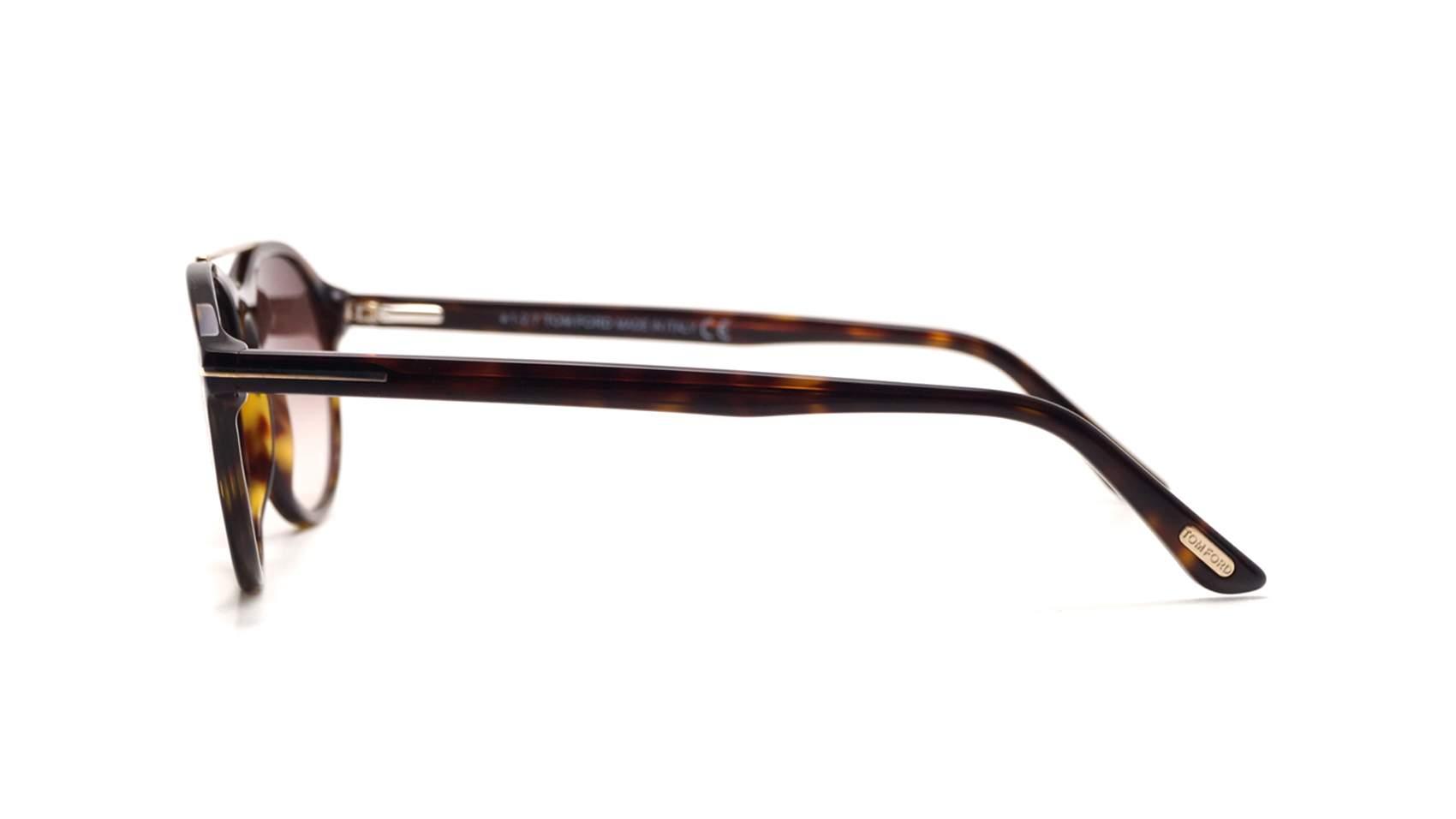 d57df00ec0 Sunglasses Tom Ford Cameron-02 Tortoise FT0556S 52G 53-17 Medium Gradient