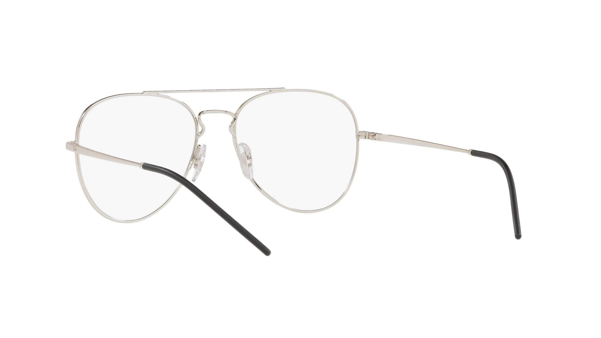 00e8eae5913 Eyeglasses Ray-Ban RX6413 RB6413 2501 54-17 Silver Medium