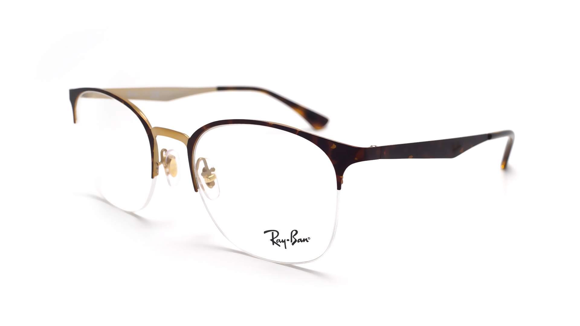 b1a98d3fb2e Eyeglasses Ray-Ban RX6422 RB6422 3001 49-19 Tortoise Matte Small