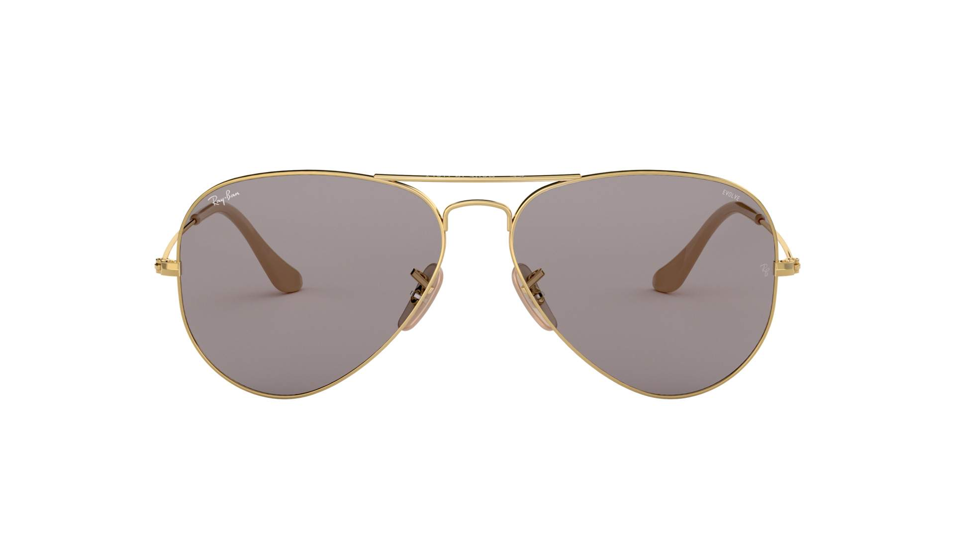 273b3873022d1 Sunglasses Ray-Ban Aviator Evolve Gold RB3025 9064 V8 58-14 Medium  Photochromic