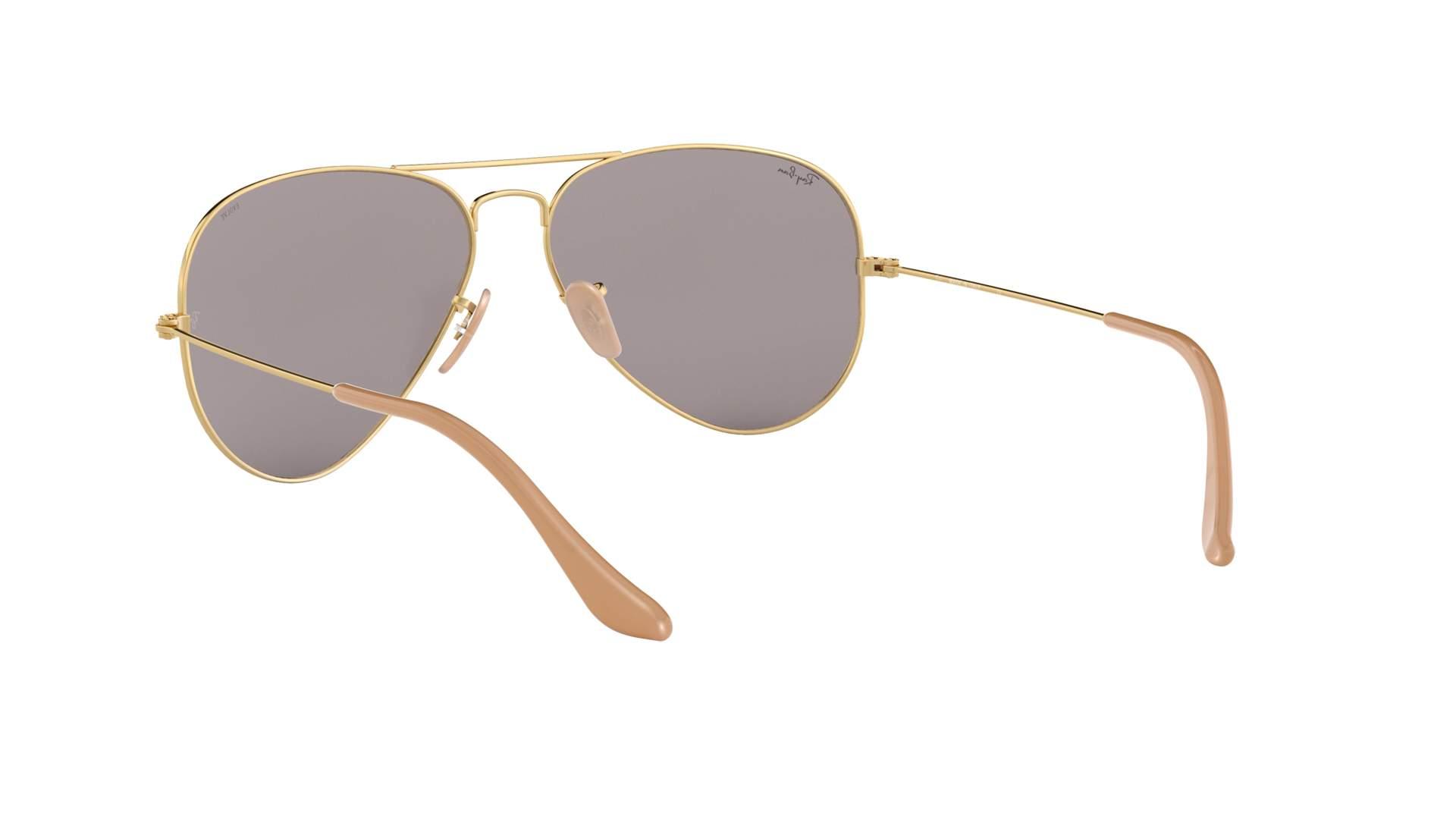 25599985e Sunglasses Ray-Ban Aviator Evolve Gold RB3025 9064/V8 58-14 Medium  Photochromic. Small. 55-14