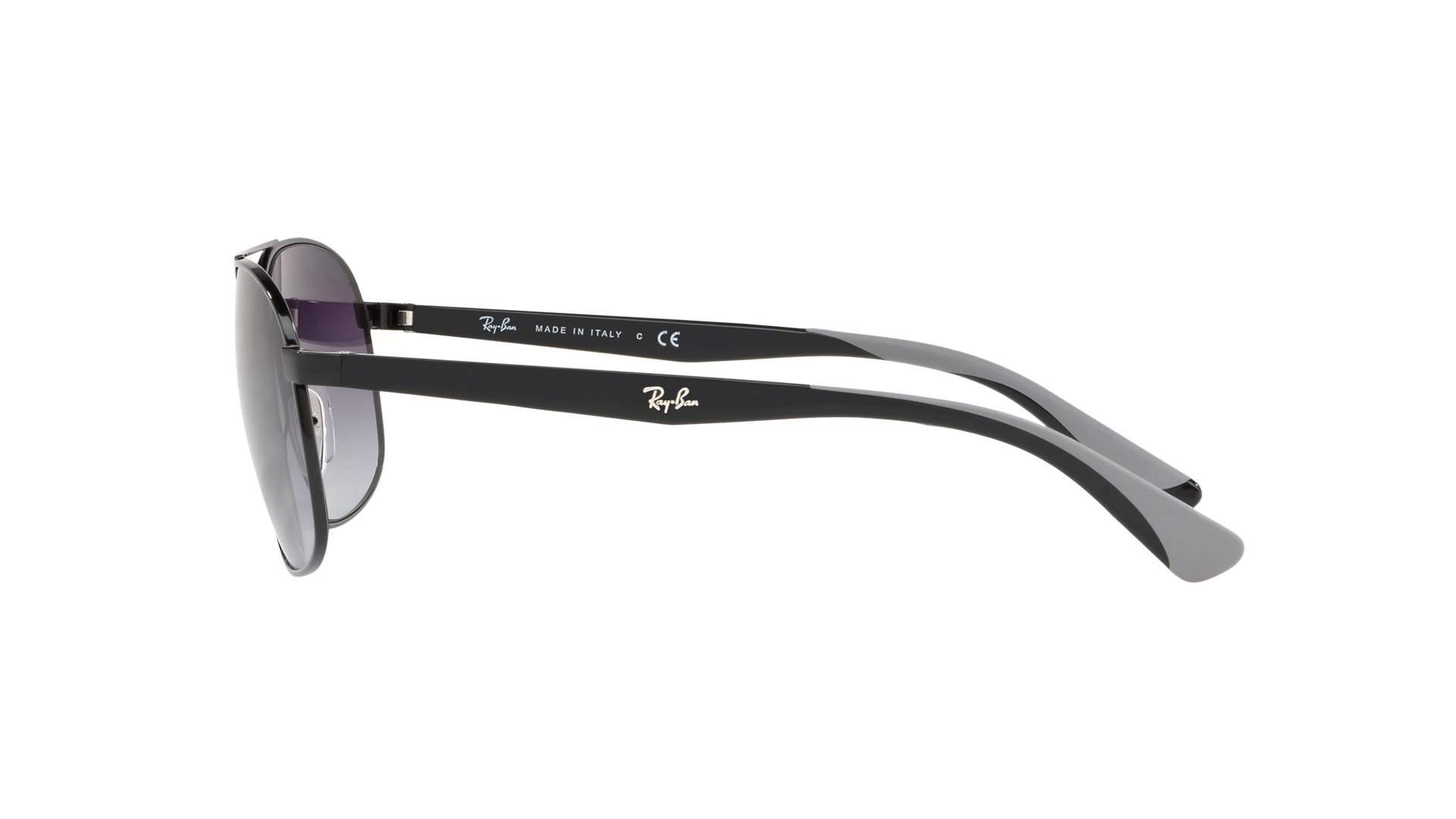 5cd8929bb1 Sunglasses Ray-Ban RB3593 002 8G 58-17 Black Medium Gradient