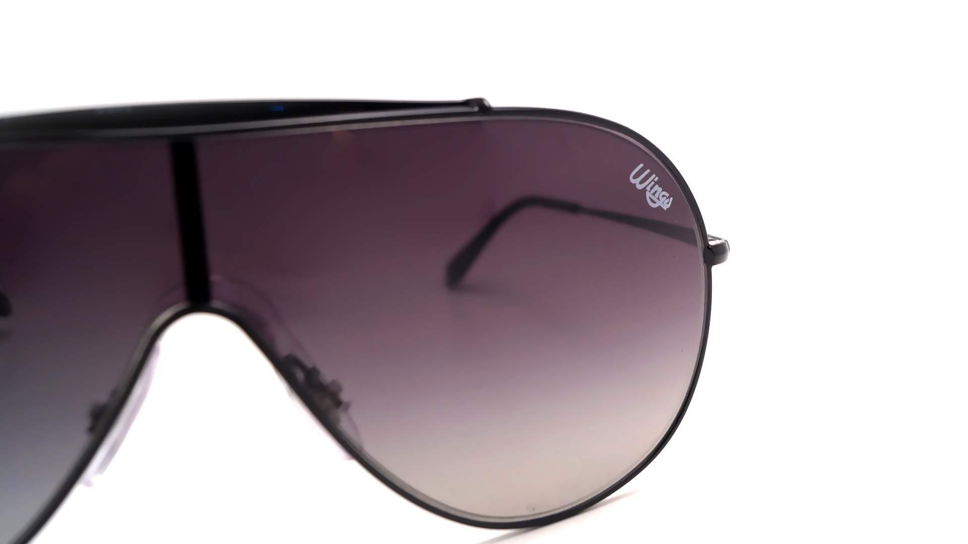 156a7fe8197 Sunglasses Ray-Ban Wings Black RB3597 002 11 33-18 Medium Gradient