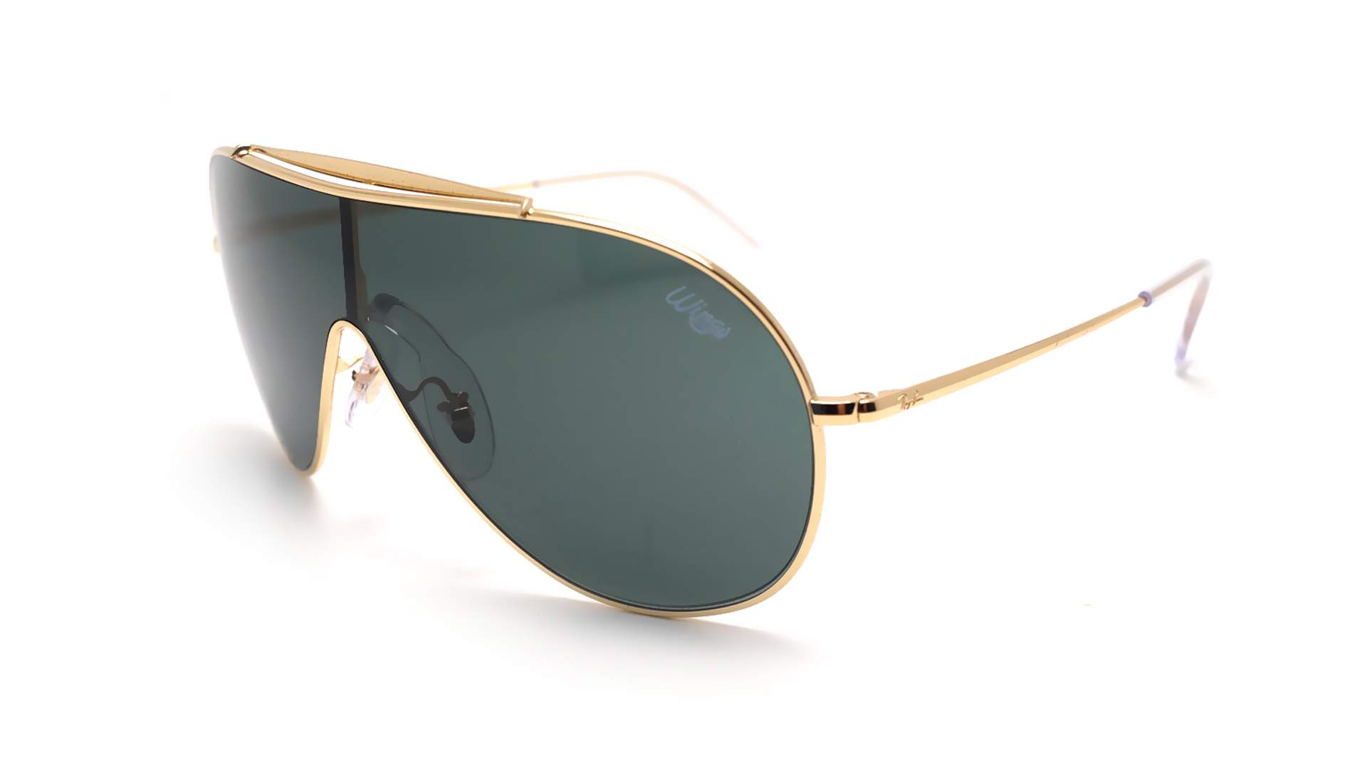 c15d0b90ff Sunglasses Ray-Ban Wings Gold RB3597 9050 71 33-18 Medium