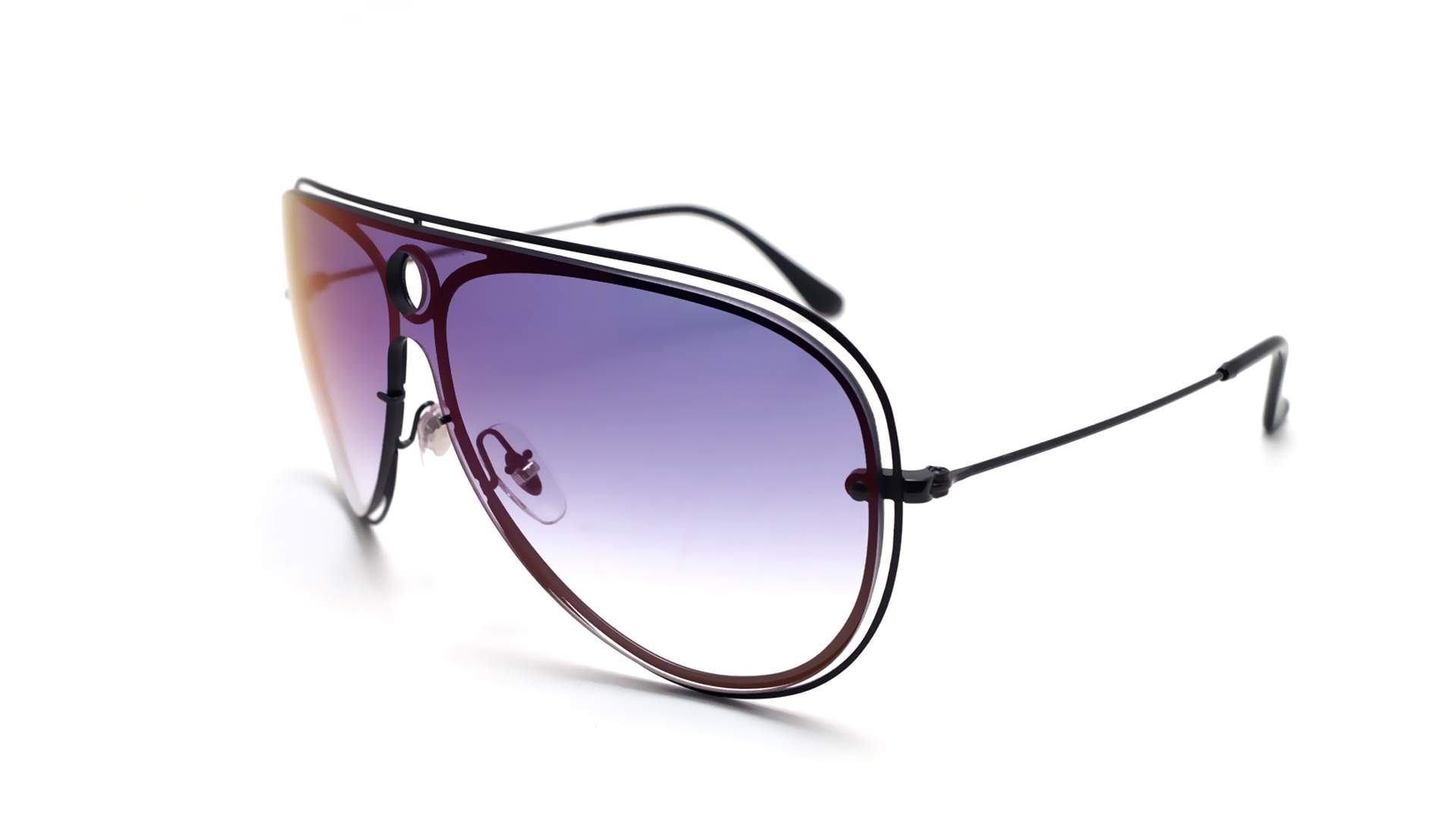 5b25694a2d Sunglasses Ray-Ban Shooter Blaze Black RB3605N 186 X0 32-20 Medium Gradient  Mirror