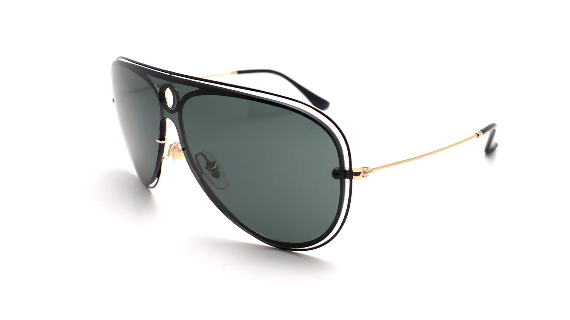 a01c26db34 Sunglasses Ray-Ban Shooter Blaze Black RB3605N 187 71 32-20 Medium