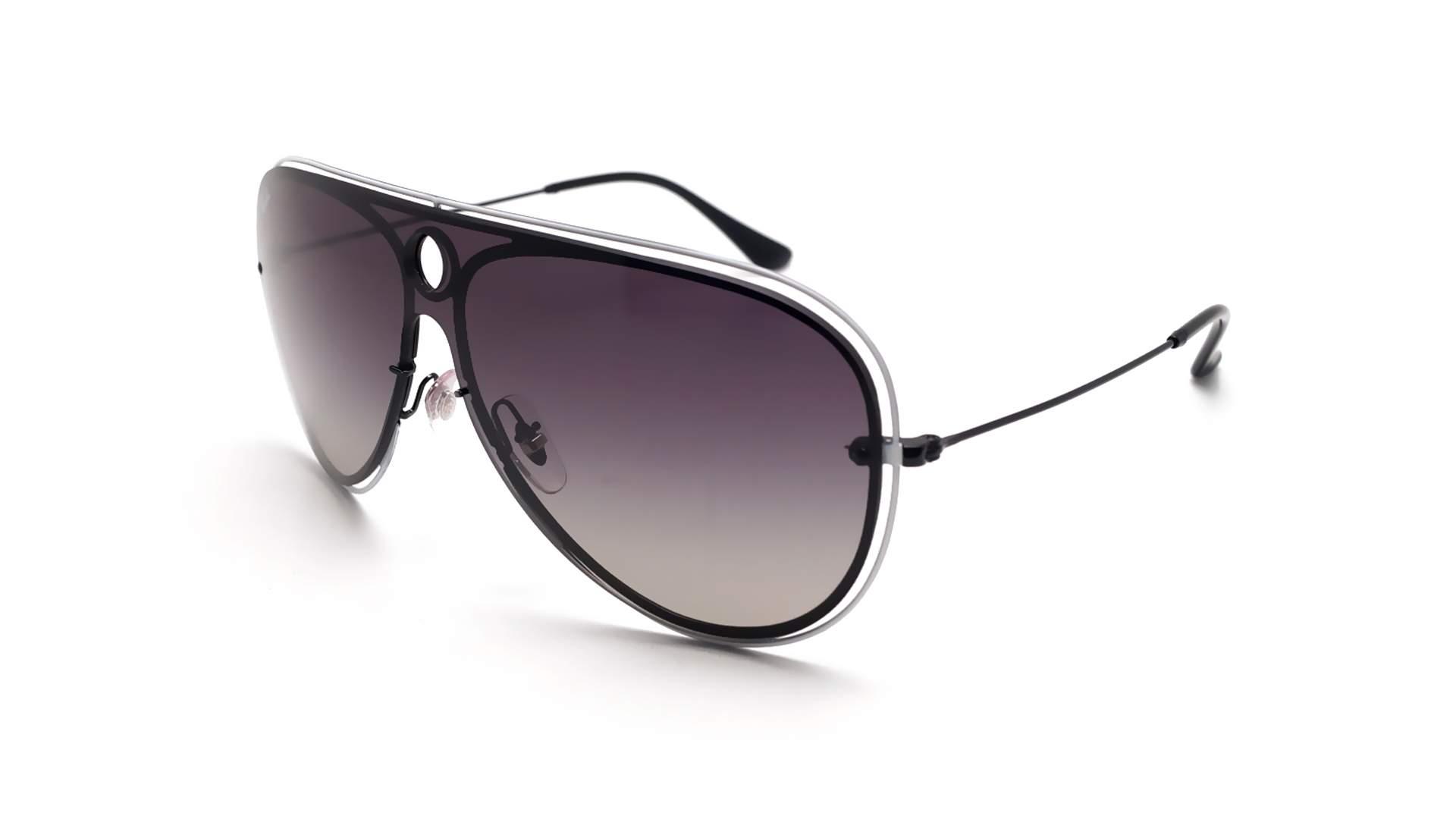 2ddd8e4ae6 Sunglasses Ray-Ban Shooter Blaze Black RB3605N 9095 11 32-20 Medium Gradient