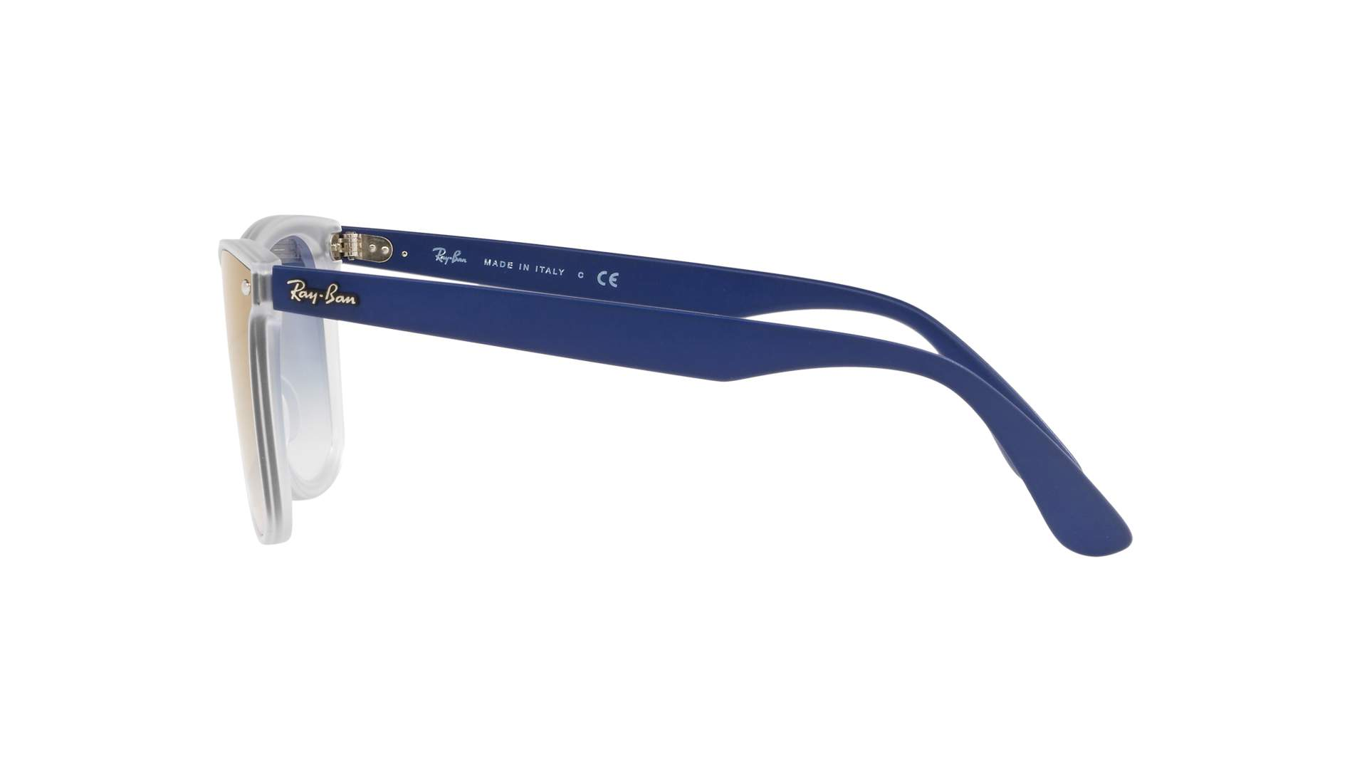 86865b0cf6b Sunglasses Ray-Ban Wayfarer Blaze Blue RB4440N 6356 X0 41-18 Medium  Gradient Mirror
