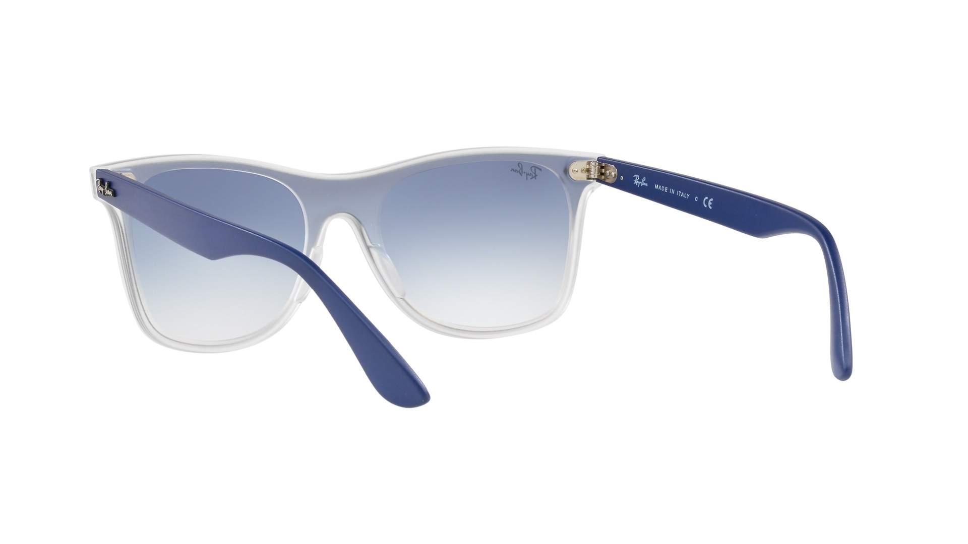 bf038fe8be Sunglasses Ray-Ban Wayfarer Blaze Blue RB4440N 6356 X0 41-18 Medium  Gradient Mirror