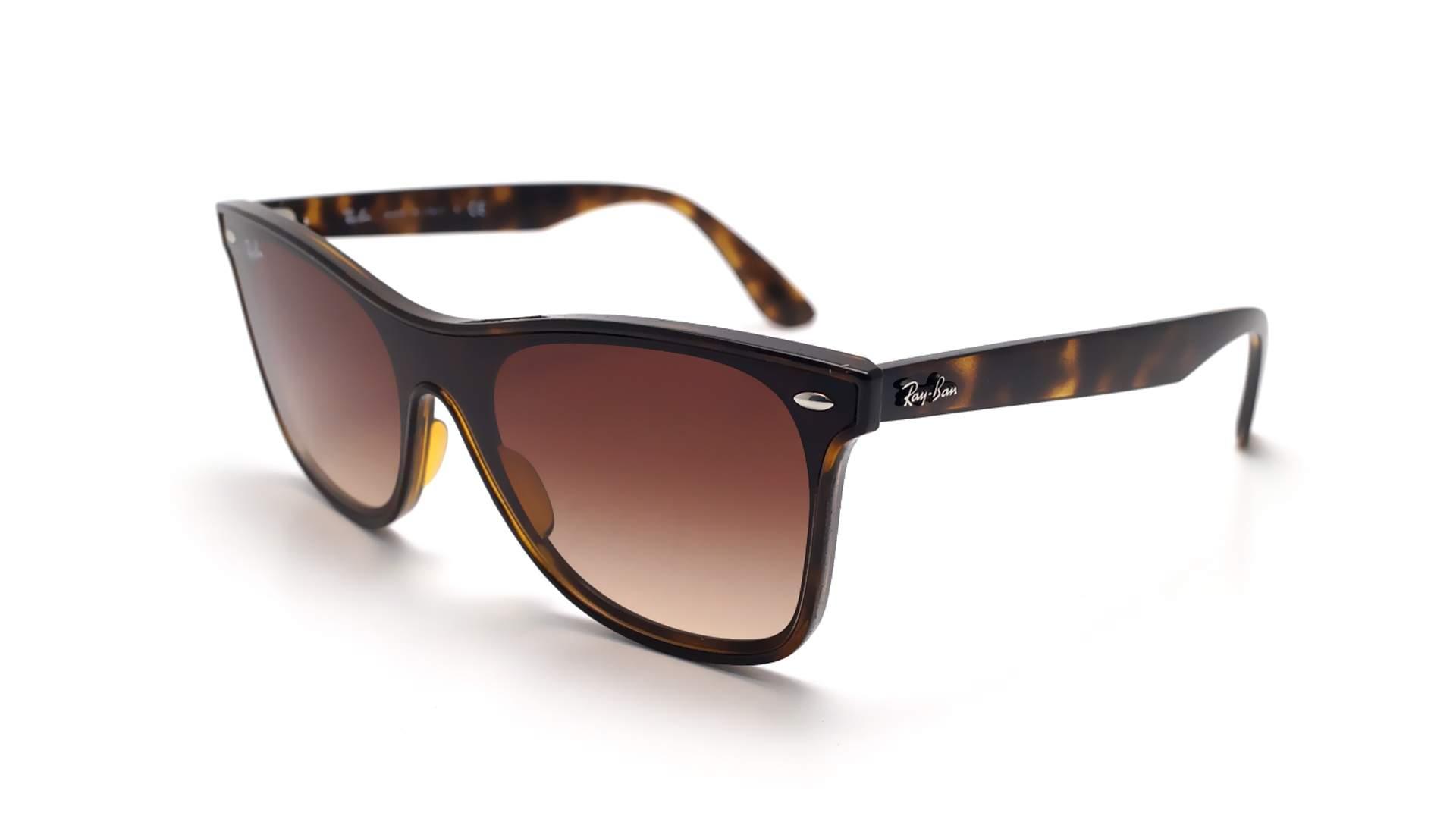 e29bfb2bb5c731 Sunglasses Ray-Ban Wayfarer Blaze Brown RB4440N 710/13 41-18 Medium Gradient