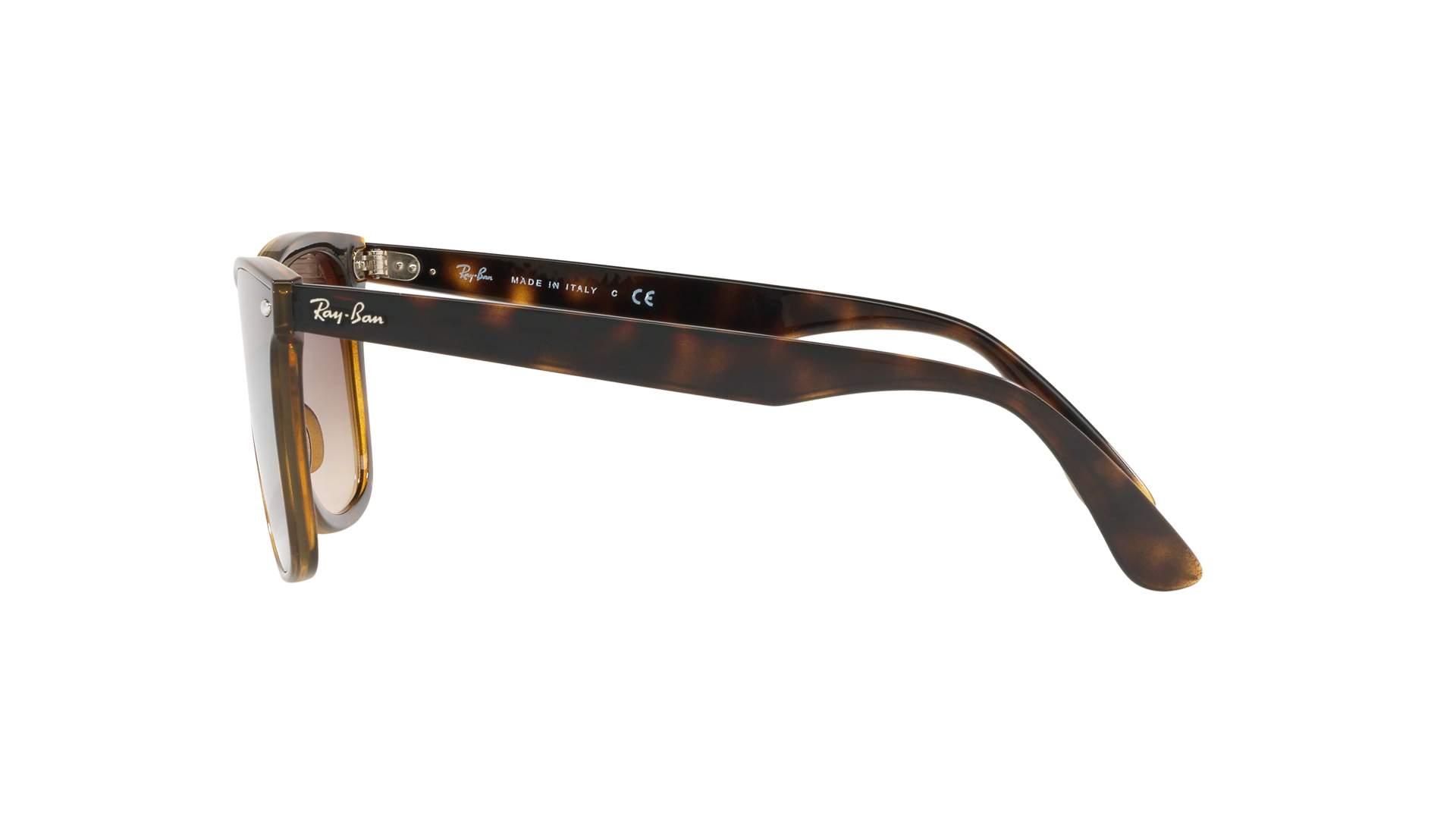 d38f581aa122c Sunglasses Ray-Ban Wayfarer Blaze Brown RB4440N 710 13 41-18 Medium Gradient