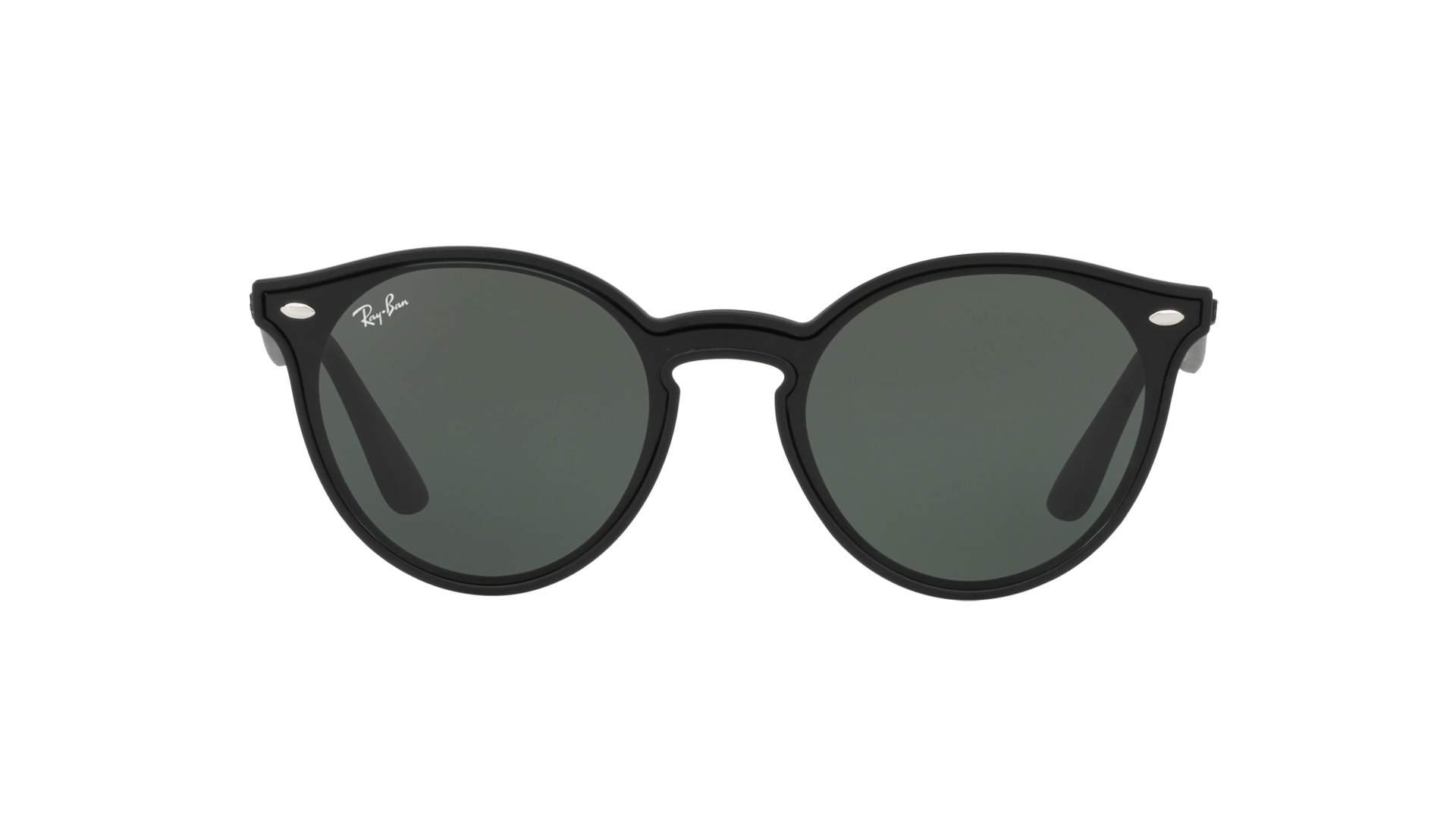 30fc34dba8 Sunglasses Ray-Ban Blaze RB4380N 601S 71 37-17 Black Matte Medium