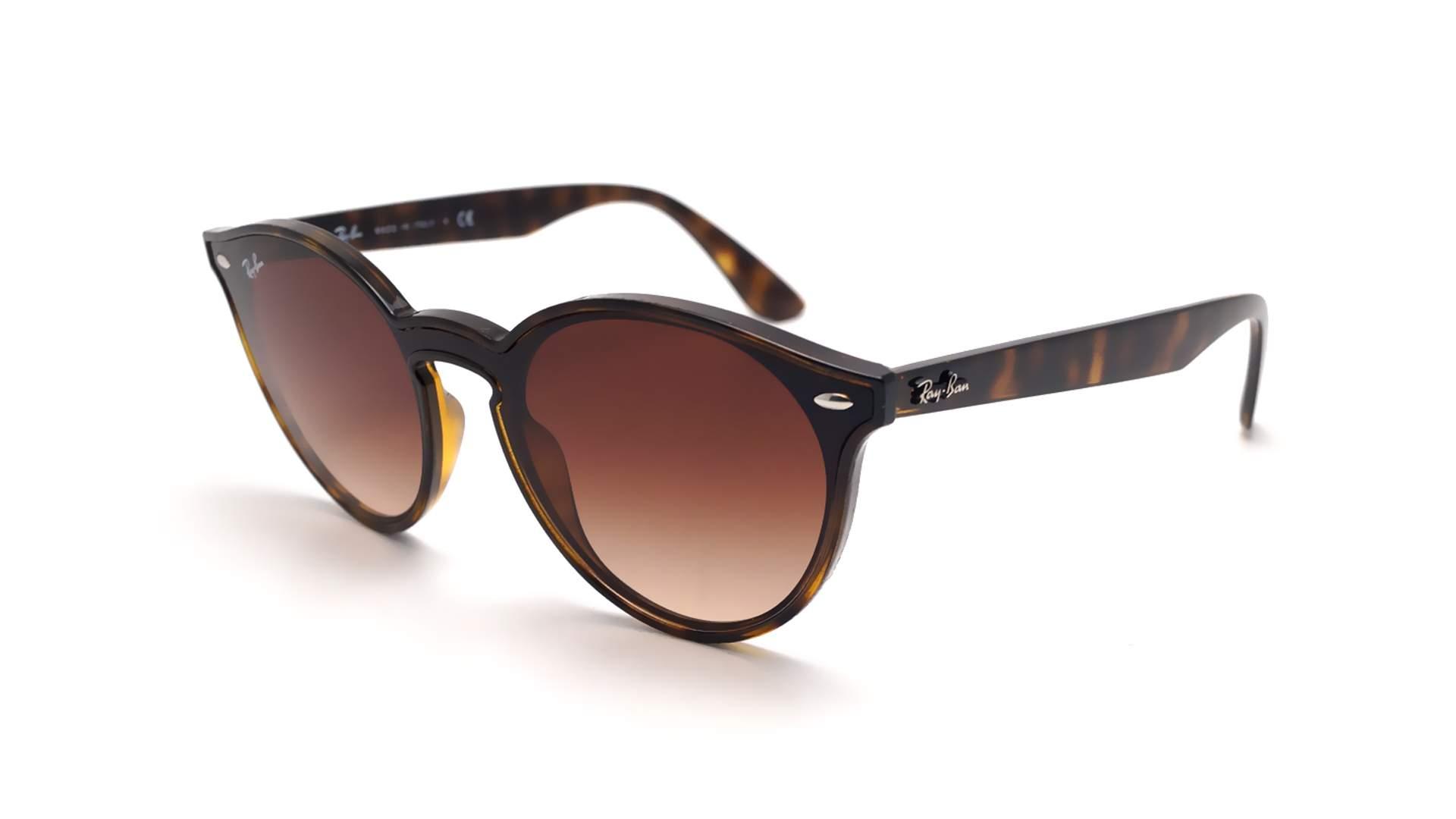 e30df285df Sunglasses Ray-Ban Blaze RB4380N 710 13 37-17 Brown Matte Medium Gradient