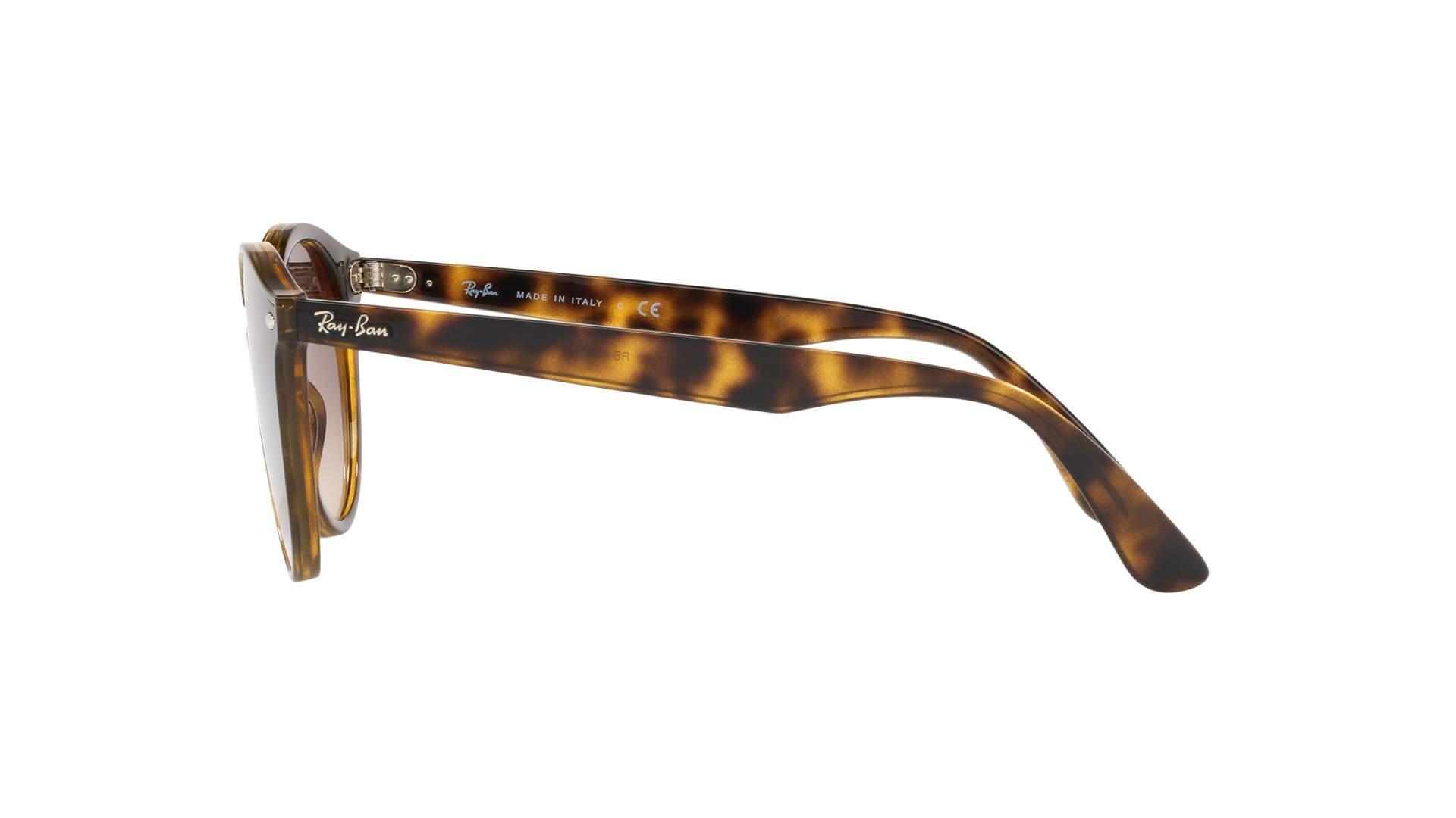 ed66152b4ffec Sunglasses Ray-Ban Blaze RB4380N 710 13 37-17 Brown Matte Medium Gradient