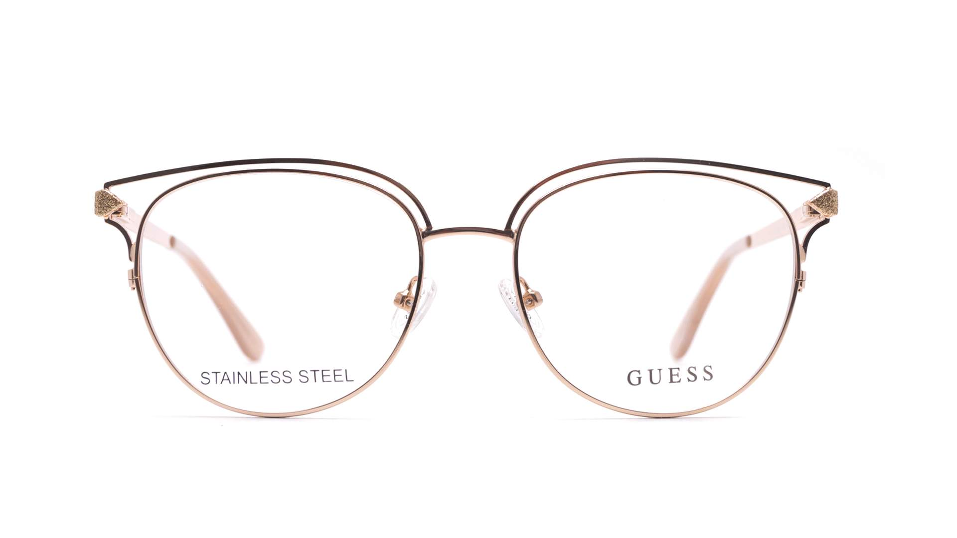 Guess GU2686 028 53-17 Rose   Prix 98,90 €   Visiofactory 99229be7e159