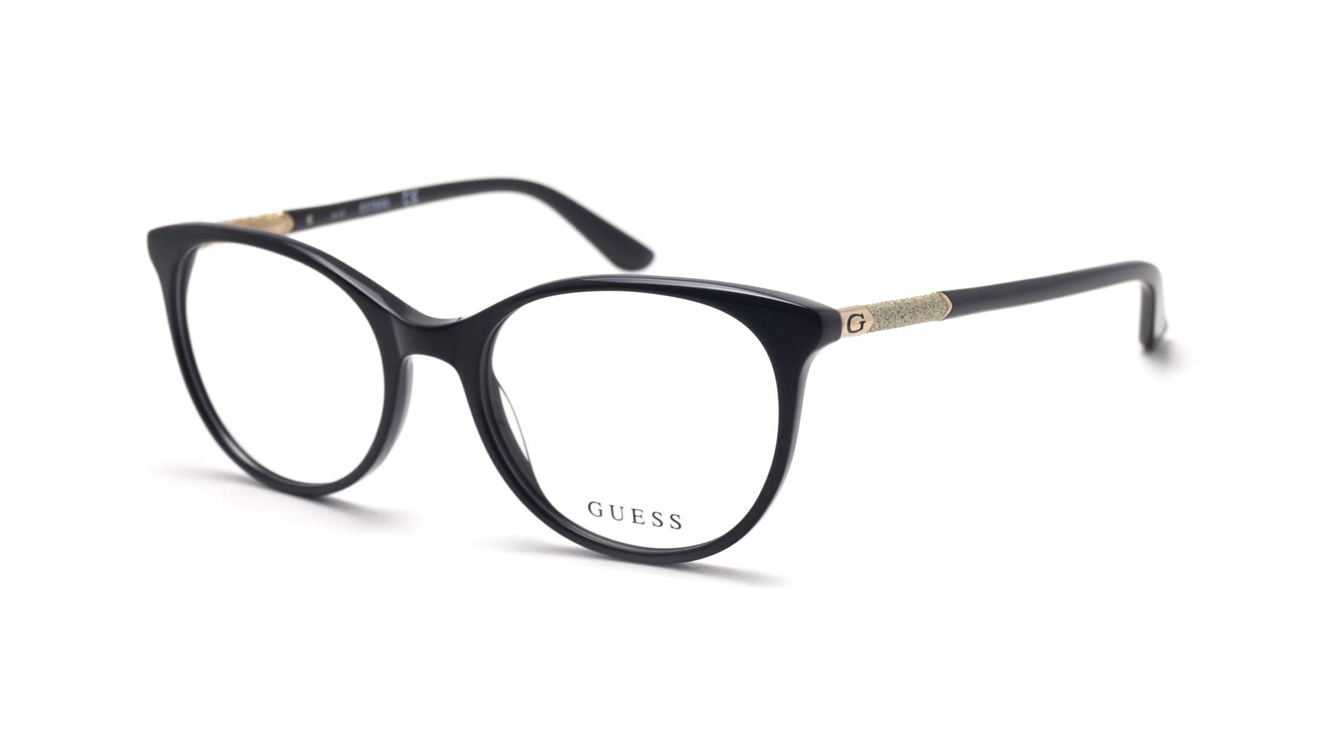 653a4d3044 Guess GU2657 005 52-18 Noir | Prix 104,90 € | Visiofactory