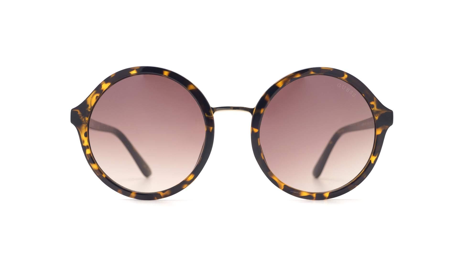 e3f644b80eb7 Sunglasses Guess GU7558 52F 54-22 Tortoise Large Gradient