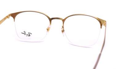 Ray-Ban RX6422 RB6422 3005 49-19 Marron Mat