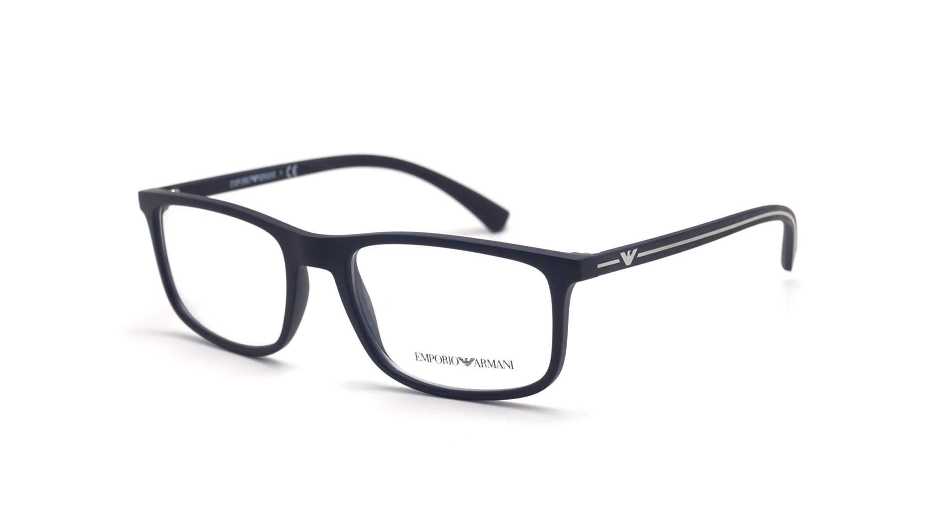 bba14c223290 Eyeglasses Emporio Armani EA3135 5692 53-18 Blue Matte Medium